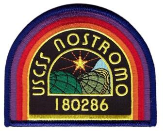 BLACK Nostromo Alien Movie Costume Patch