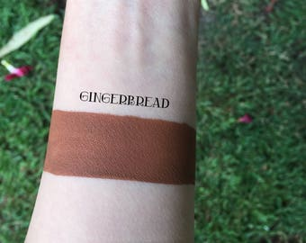 Gingerbread Liquid Lipstick