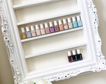 Grand Luxe Ornate Nail Polish Organizer Display Rack
