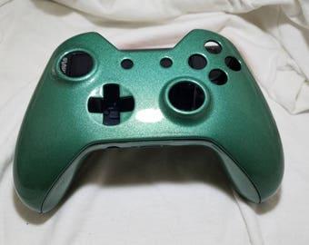 Aerospace Grade Woodland Green Metallic Xbox One Shell