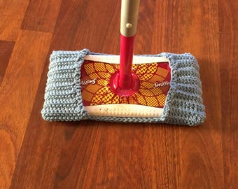 Reusable 100% cotton swiffer covers