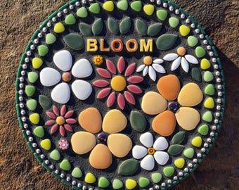 BLOOM Mosaic Plaque