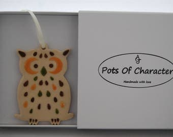 Owl gift for her, Teacher Gift