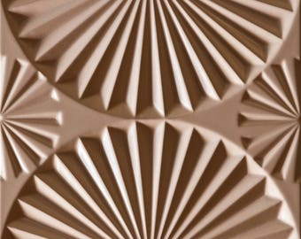 3-D Wall Panels from MDF
