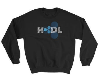 Ripple HODL Sweatshirt // Ripple XRP Logo Sweater // Cryptocurrency Sweater // Bitcoin Blockchain Sweater // Digital Currency Sweatshirt