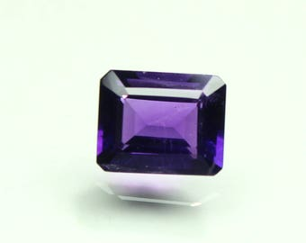 Natural Amazing AAA Purple African Amethyst Size 8x10 mm faceted Octagon 1 PC Prefect CODE :- AQ12