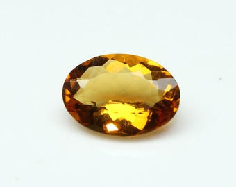 AAA Amazing Natural Citrine Faceted Oval Nice Cutting Size- 9.4x13x5.3 Citrine Code= CT10