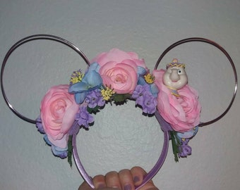Mrs. Potts Flower Crown Ears