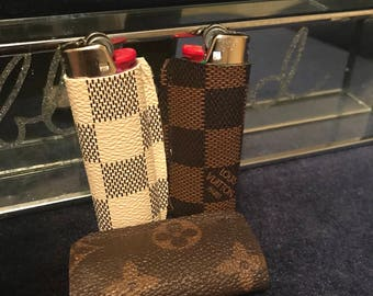 Sales!!!  Authentic Louis Vuitton canvas lighter