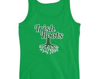 Irish Roots Tee | Ireland T-Shirt | Ladies' Tank