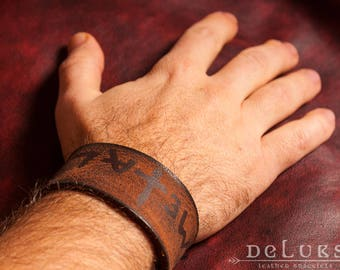 stainless steel rivetsDiesel Leather Bracelet ,stainless rivets,deluxe leather bracelet,100% buffalo leather,soft leather,+GIFT sticker