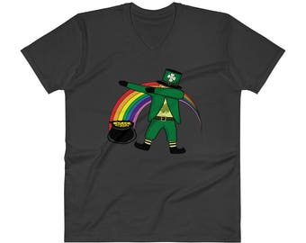 Dabbing Leprechaun Shirt, Dabechaun St. Patrick's Day Tee