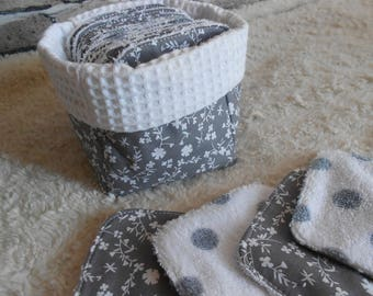 Fabric basket and its wipes
