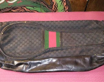 Rare Vintage 1970's Authentic Gucci Tennis Bag Made in Italy