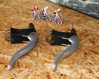 Retro bike race vintage pair of FCAM brake levers