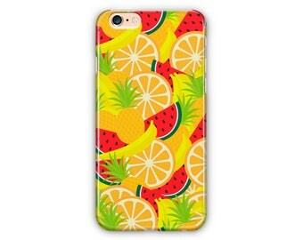 Fruits Pattern Phone Case for iPhone 8 / iPhone 7 / 7Plus, iPhone 6/6Plus iPhone5 Samsung Galaxy S7/7 edge / S6 / S6 edge/S5