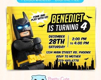 Lego batman card Etsy