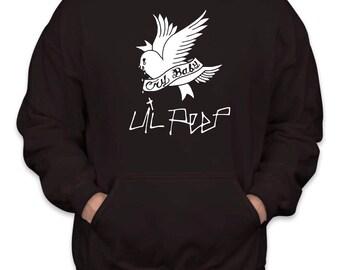 Lil Peep Cry Baby Dove Hoodie Sz:S-2XL