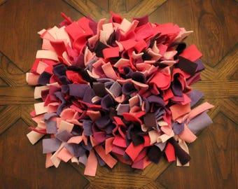 pink & purple snuffle mat