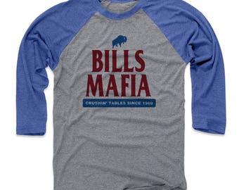 Bills Mafia Men's 3/4 Sleeve Shirt | Sports & Buffalo Bills Themed Apparel | Bills Mafia