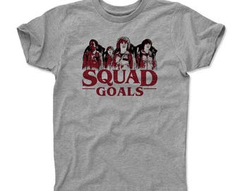 Stranger Things Kids T-Shirt | Tv Show & Hawkins Middle School And Upside Down Themed Apparel | Stranger Things Squad Goals