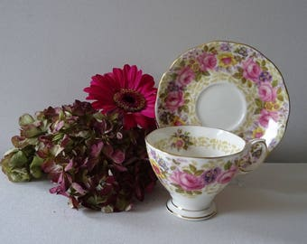 Royal Albert Serena Cup and Saucer