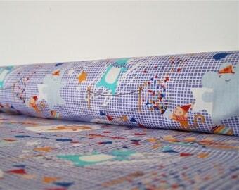 Coupon Circus, 48 x 50 cm, fabric cotton