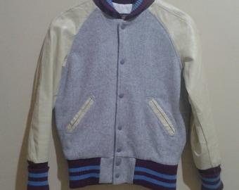 Vintage Skookum Varsity 100% Wool Jacket