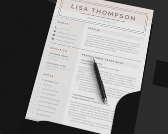 Resume Template Customize Writing, Business Card