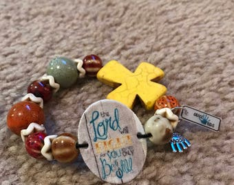 The Lord Will Fight for You Bracelet