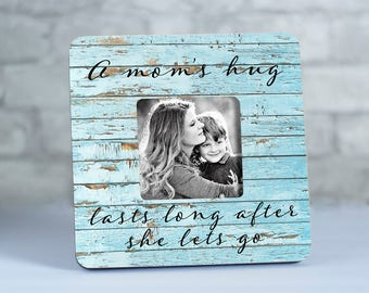 Gift for Mom Picture Frame, Picture Frame for Mom, Personalized Mom Frame, Mommy Gift, Mom Photo Frame, Mom from Daughter, Mother's Day