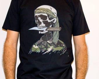 The Real Hunter / HNT 2  - Hunting Man T-shirt
