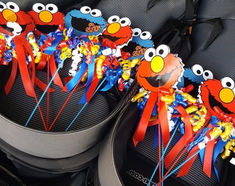 Sesame Street Decorations - Elmo and Cookie Monster