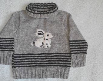 Sweater for boy 2-3 years