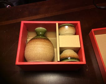 Chinese Wine/Sake set