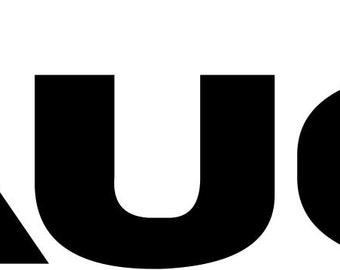 AUDI Vinyl Decal