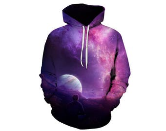 Galaxy Hoodie, Galaxy Sweatshirt, Galaxy, Galaxy Jumper, Galaxy Hoodies, Space, Space Hoodie, 3d Hoodie, 3d Hoodies, Hoodie - Style 35