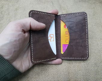 Cardholder, Small cardholder, Minimalist cardholder, Simple Cardholder, Mini card holder, Leather cardholder, Slim cardholder