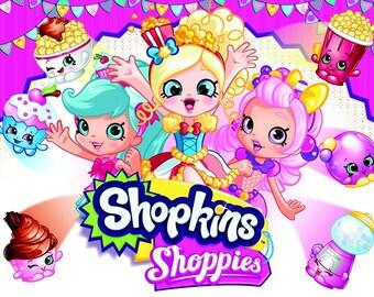 COMING SOON.. shopkins shoppies hair bow