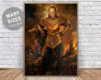 Vigo the Carpathian Poster Print Vigo Poster Ghost Busters Movie Poster Ghost Busters Print Ghost Busters Party Ghostbusters Poster Wall Art