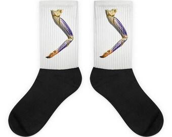 Funny Socks/Hawaiian Lobster Leg Socks/Original Design