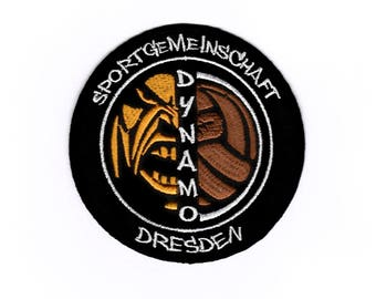 Dresden Iron on Sew on Embroidered Badge Applique Motif Patch
