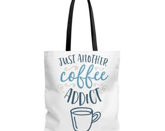 Coffee Addict Tote Bag