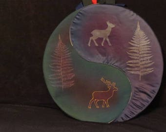 bag or cover for shamanic drum native of 42 to 43 cm diameter