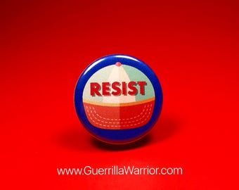 Resist Cap (1.25 inch Pin/Button)