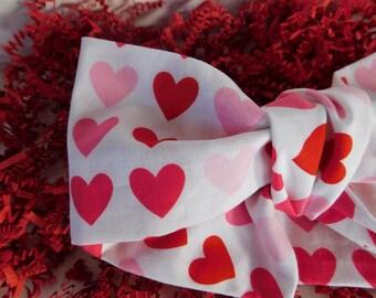 Valentine Hearts Headwraps