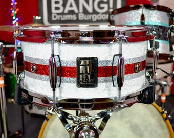 """Bang! Drums 13""""x6"""" 8ply Maple Snare"""