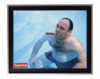 Supreme x The Sopranos 'Mobsters That Prosper' Poster or Art Print