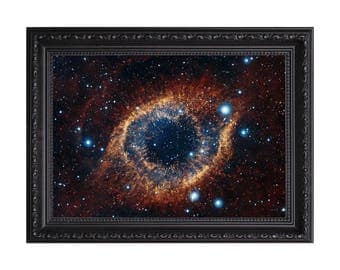 Space Galaxy 'All Seeing Eye' Star Nasa Poster or Art Print