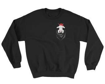 Funny Goat Pet Pocket Ugly Christmas Sweater